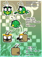 ''Insect Bros'' reference sheet by koshechkazlatovlaska