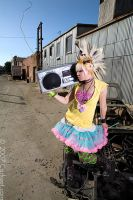 Ghetto Blaster by looooo