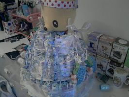 Diaper Cake Right Side by carmietee