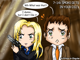 CSI Miami - Close Call Attic by Prince-in-Disguise