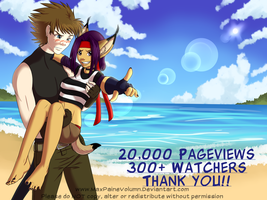 20,000 Pageviews by MaxPaineVolumn