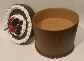 Triple Layer Chocolate Cake Box Open by ninja2of8