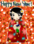 2014 New Year's Drawing by Sagojyousartpage