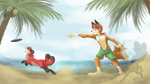 [CM] Fun at the Beach by ThatWildMary