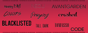 Pack Fonts EXOEDITIONS by EXOEDITIONS