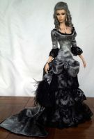 OOAK Victorian Gown for Sybarite by DalilaDolls