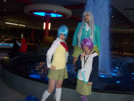 Rosario Vampire: Girls by AticaXAnnon