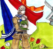 Netherlands, and kid Neth by AnnHolland