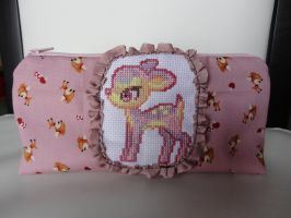 Bambi Pencil case by Miss--Ness
