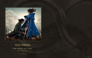 New Spring ebook cover art wallpaper by ArcangHell