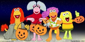 Fraggles Halloween Trick or Treating by TomFraggle