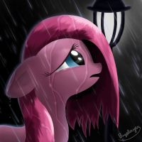 Under the rain, they can't see you cry by Bugplayer