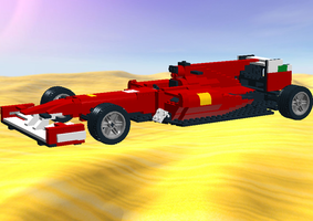 Lego F1 car 2010 by Galbatore