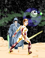 Old Luke And Apprentice by nailsin