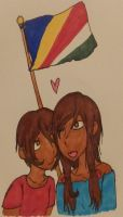 Hetalia - ''We are Seychellois and Proud!'' by Karma-Maple