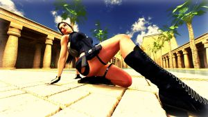 Lara a day in Egypt by Animerulesdaz