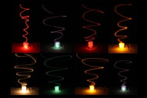 More experiments in Light Painting by PauloHod