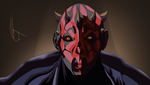 Star Wars: Darth Maul by PerfectChaoX
