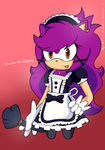 Domestic the hedgehog + Speed paint by alice-zafi
