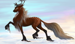 Stag - Halfdanr - Silverthorne - auction try by Danesippi