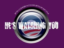 Creepy Obama Lens by Conservatoons