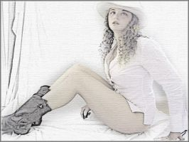 Cow Girl by Flore