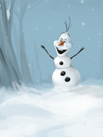 I'm Olaf and I like warm hugs by clc1997