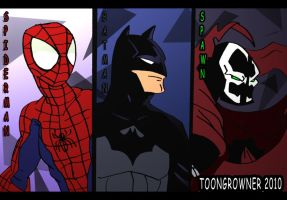 My favourite comic heros by toongrowner