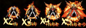 ICGreymon evolutions by getnakedd
