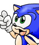 Sonic says... by LeniProduction