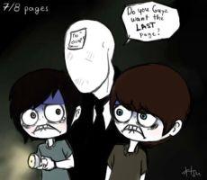Slender loves Smosh by orsholya