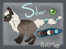 Silver Auction CLOSED by DemThree-Adopts