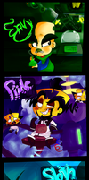 Crash Seven Deadly Sins by KrystalFleming