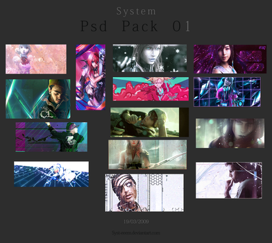 Psd Pack 01 by Syst-eeem