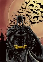 Chararararararararararararararararaararara Batman by LordGusst