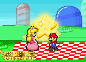 SMBHotS - Mario and Peach's Picnic by KingAsylus91