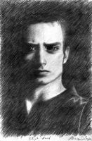 Elijah Wood - Old drawing, year 2002 by Musiriam