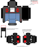 Cobra HISS tank cubee by lovefistfury