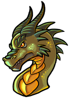 Dragon Head by WforWumbo