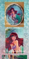 Plaque: Little Mermaid by Roots-Love