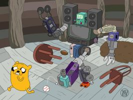 Great Media Body Titan Beemo-Bot by -coldfusion-
