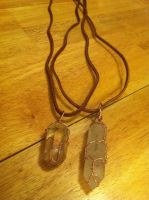 Crystal Necklaces by forever--yours