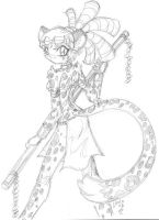 Jaguar warrior Sexy babe yeah by ChaloDillo