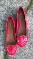 Nadia's Heartstopping Red Patent Penny Loafers by peerlesspenny