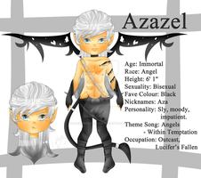 Official Reference: Azazel by DreamersArcadia