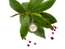 The hunger games necklace by TenereDelizie