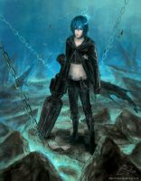 Black Rock Shooter by xRheax