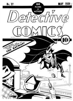 Recreation of Detective Comics by Picturecar