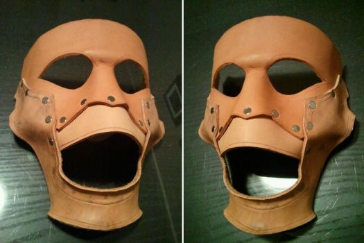 Creepy ventriloquist Mask WIP by Skinz-N-Hydez