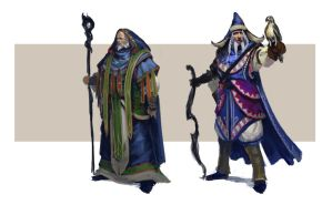 Blue-Mages-wip2 by DiegoGisbertLlorens